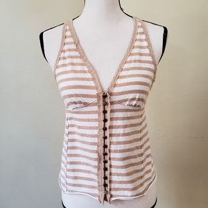 We The Free Halter Neck Stripe Top